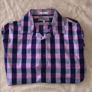 NWOT EXPRESS BUTTON DOWN